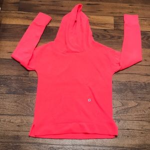 Justice Hot pink hoodie size 16
